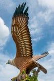 Eagle-Statue auf Eagle-Quadrat, Kuah Lizenzfreies Stockbild