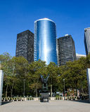 Eagle Statue in Battery Park, Lower Manhattan Royalty Free Stock Photos