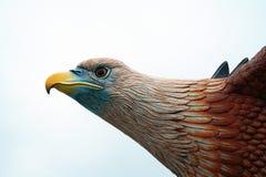 Eagle Statue Close herauf Ansicht, Langkawi Stockfotografie