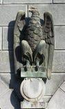Eagle Statue di pietra Fotografia Stock