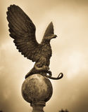 Eagle statue Gold Royalty Free Stock Images