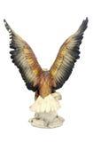 Eagle statue. Isolated on white background Stock Image