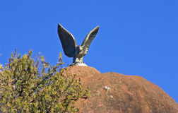 The Eagle Statue. Royalty Free Stock Photography