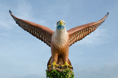 Eagle statue Langkawi Royalty Free Stock Photography