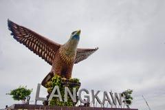 Eagle Statue, Pulau Langkawi, Kedah, Malesia Fotografia Stock Libera da Diritti