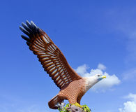 Eagle Statue, Symbol von Langkawi-Insel, Malaysia Stockfotos