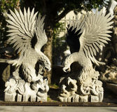 Eagle statue Stock Photo