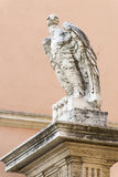 Eagle statue in Vatican city, Rome Royalty Free Stock Images