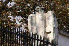 Eagle Statue Vienna Lizenzfreies Stockbild