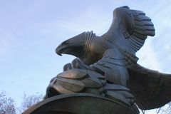 Eagle Statute Stock Photos