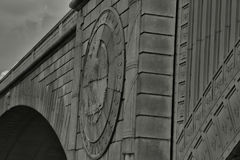 Eagle in the Stone of the Arlington Memorial Bridge Royalty Free Stock Images