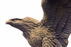 Eagle stone Royalty Free Stock Photo
