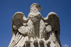 Eagle stone statue Stock Photos