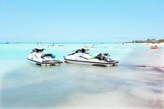 Eagle strand på den Aruba ön Royaltyfria Bilder