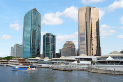 Eagle Street Pier in Brisbane Queensland Australia Royalty Free Stock Image