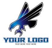 Eagle symbol. Isolated on white - illustration Stock Photo