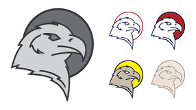 Eagle-Symbol Stockfoto