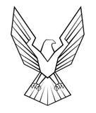 Eagle Symbol Imagenes de archivo