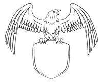 Eagle Symbol Fotografía de archivo libre de regalías