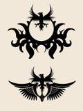 Eagle Symbol Royaltyfri Bild