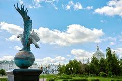 Eagle-Symbol der Stadt Lizenzfreie Stockbilder