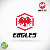 Eagle Symbol Illustration Foto de archivo