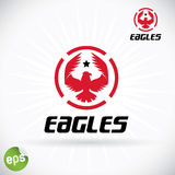 Eagle Symbol Illustration Royalty Free Stock Photos