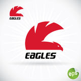 Eagle Symbol Illustration Royalty Free Stock Images