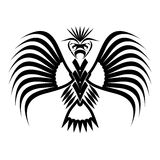 Eagle symbols and tattoo, vector illustration. Royalty Free Stock Photography