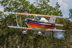 Eagle Takes Off à l'atterrissage melrose images libres de droits