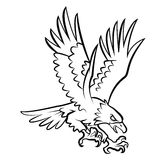 Eagle Tattoo Vector Illustration Stock Photos