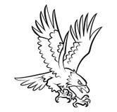 Eagle Tattoo Vector Illustration Stock Photos
