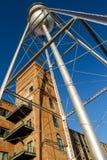 Eagle u. Phenix Mills Water Tower Lizenzfreies Stockbild