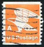 Eagle. UNITED STATES - CIRCA 1978: stamp printed by United states, shows eagle, circa 1978 stock photo