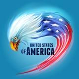 Eagle USA Arkivbild