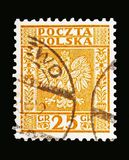 Eagle vapensköld av Polen serie, circa 1932 Royaltyfria Foton