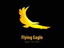 Eagle vector design template. bird or animal icon. Stock Image
