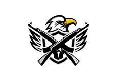 Eagle Vector, Logo Team et illustration Photo stock