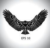 Eagle vektor Arkivbild