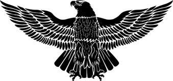 Eagle voor gebruik als sticker of tatoegering stock afbeelding