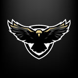 Eagle w locie, logo, symbol Zdjęcie Royalty Free