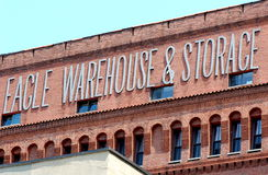 Eagle Warehouse and Storage, New York City Royalty Free Stock Images