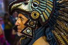 Eagle Warrior Headdress lizenzfreies stockfoto
