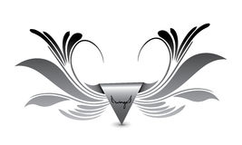Eagle Wings Logo Royalty Free Stock Photography