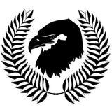 The eagle and wreath Stock Photos