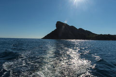 The Eagles beak La Ciotat ocean Stock Photography