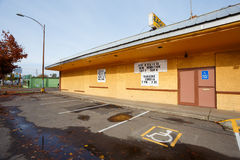 Eagles Building Springfield Oregon stock image