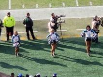 Eagles-cheerleaders stock fotografie