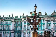 Eagles em St Petersburg foto de stock