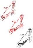 Eagles en el estilo de los indios americanos Imagen de archivo